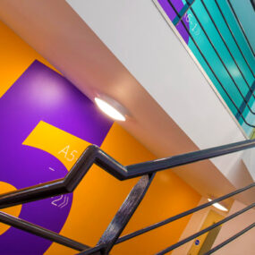 Custom design to improve lighting specification for student accommodation