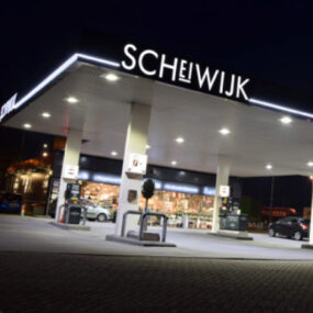 Showcasing 1st site in Holland with LED lighting