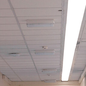 LED retro-fit lighting solution for one of Europe's largest hospitals
