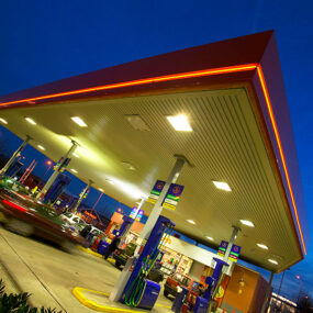 Forecourt Feature Lighting