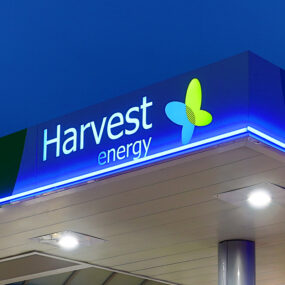 Harvest Energy installs latest generation Visive LED contour tube