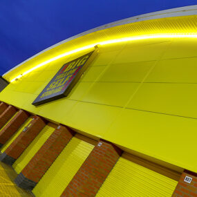 Visive's Hi-Lite™ 30 illuminates Big Yellow Self Storage