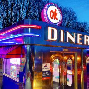 Hi-Lite™ Exterior LED Sign for OK DINER chain