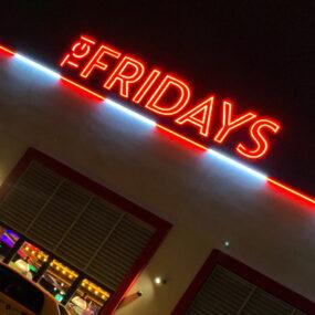 Legendary lighting every day at TGI Fridays