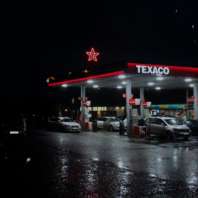 Visive's LED contour tube illuminates the iconic Texaco star