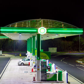 Visive awarded BP LED contour tube contract