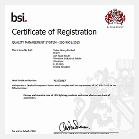 Visive Group upgrades to ISO 9001:2015