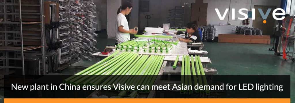 Visive led tube lighting made in China