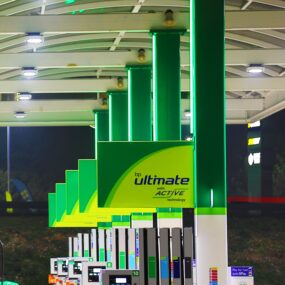 Liven up your forecourt with one of our Hi-Lite™ 30 contour products.