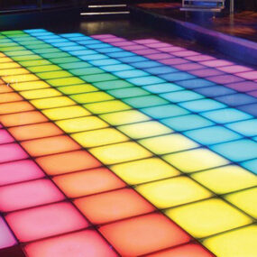 Full Colour Illuminated Dance Floor
