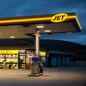 Jet present their new brand image to 88 sites in the UK